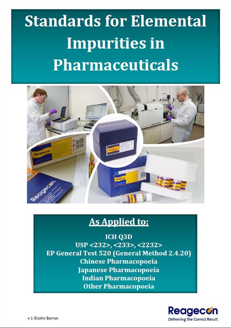 Standards for Elemental Impurities in Pharmaceuticals