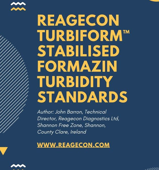 Reagecon Turbiform Stabilised Formazin Turbidity Standards
