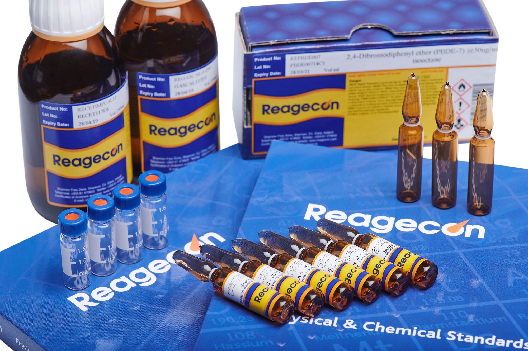 Organic Standards Product Range | Reagecon Poster